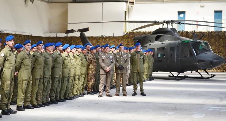 Visita del Comandante delle  Forze Operative Terrestri a Lamezia Terme -