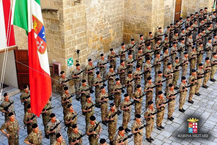 Visita del Ministro della Difesa al Comando della Brigata Marina San Marco-
