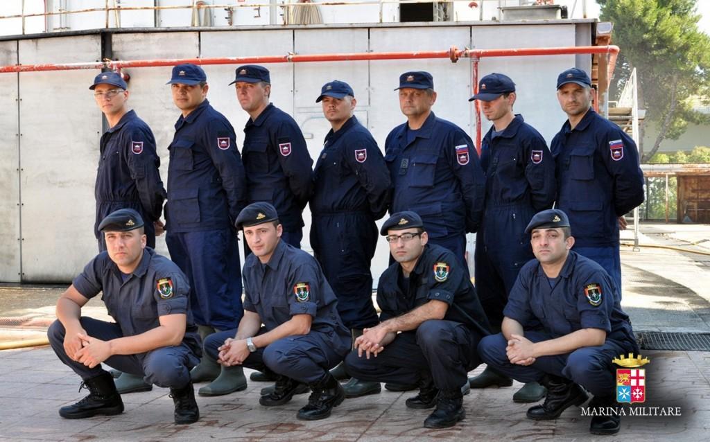 A Taranto, un modulo di addestramento alla sicurezza per Marine estere