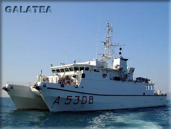 Marina Militare e INGV insieme per il monitoraggio della regione etnea