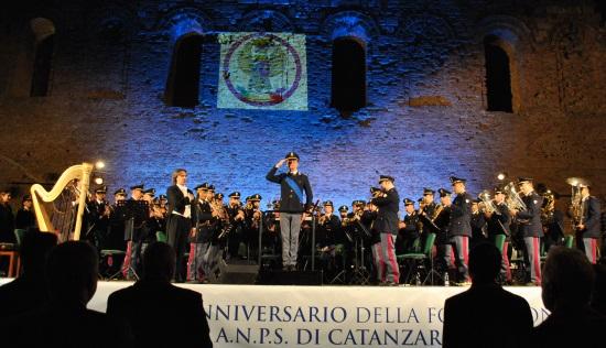 Catanzaro: concerto della Banda musicale della Polizia