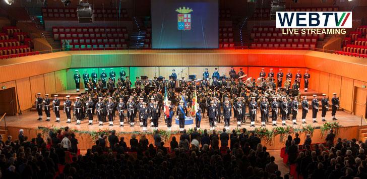 Roma: all'Auditorium concerto di beneficenza della Banda Marina Militare