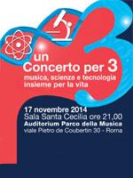 """Roma: un """"Concerto per Tre"""" aiuta la ricerca sui tumori"""
