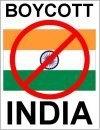 Boicottare l'India
