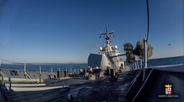 Nave Scirocco partecipa all'esercitazione GABIAN con la Marina Militare Francese