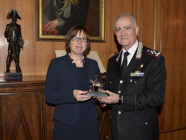 Il capo della Polizia Federale Belga dai vertici dell'Arma. Temi: la cooperazione e il contrasto al terrorismo.