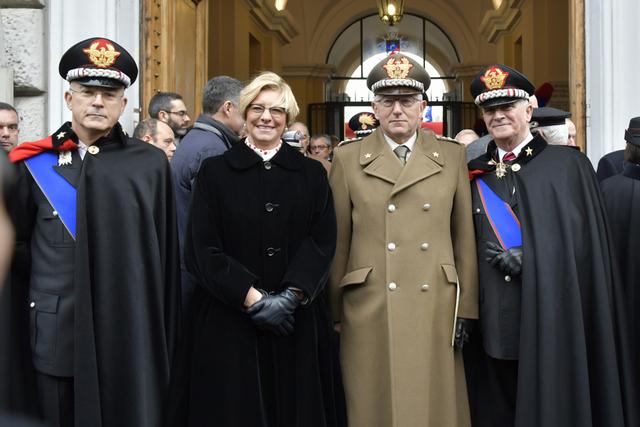 CERIMONIA DI AVVICENDAMENTO NELLA CARICA DI COMANDANTE GENERALE DELL'ARMA DEI CARABINIERI