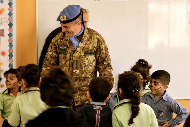LIBANO: IL CONTINGENTE ITALIANO CONTINUA IL SUPPORTO ALLE SCUOLE DELL'AREA DI RESPONSABILITÀ