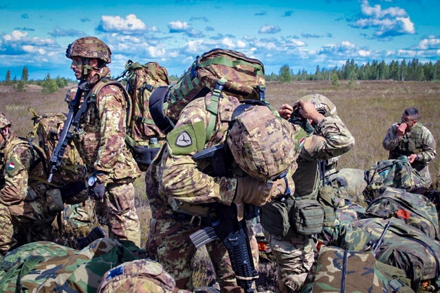 ESERCITAZIONE SABER STRIKE: IMPEGNATE FORZE ARMATE ITALIANE E USA