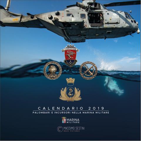 Calendario Aeronautica Militare 2020.Il Calendario 2019 Della Marina Militare Palombari E