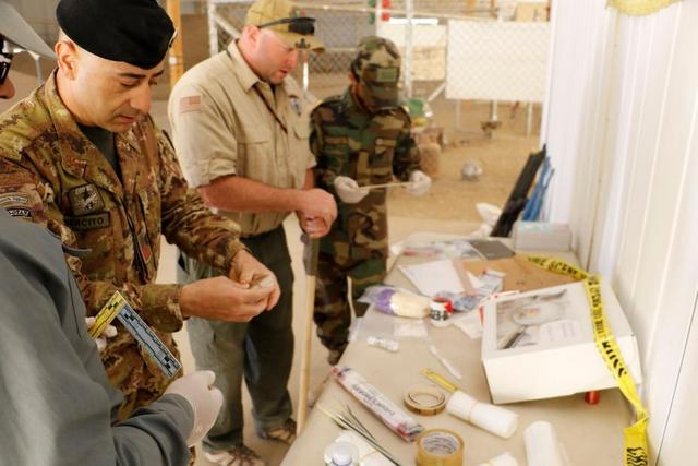MISSIONE AFGHANISTAN: LOTTA A ORDIGNI ESPLOSIVI IMPROVVISATI