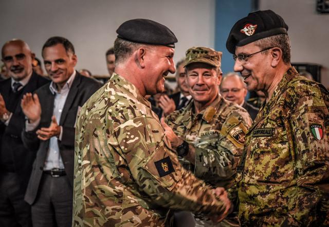 AFGHANISTAN: GENERALE SALVATORE CAMPOREALE NUOVO VICECOMANDANTE DELLE FORZE NATO