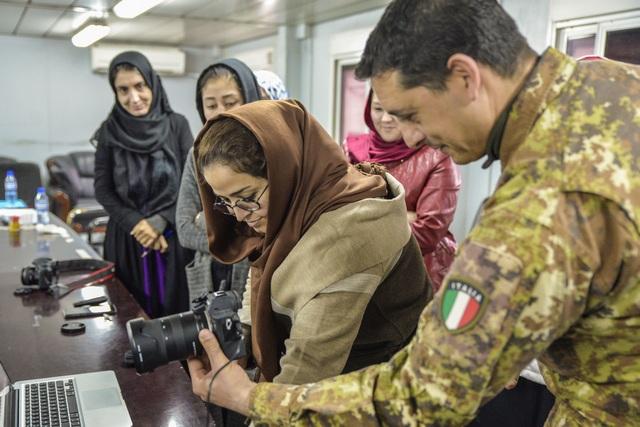 MISSIONE AFGHANISTAN: CORSO FOTOGRAFIA PER ASS. GIORNALISTE