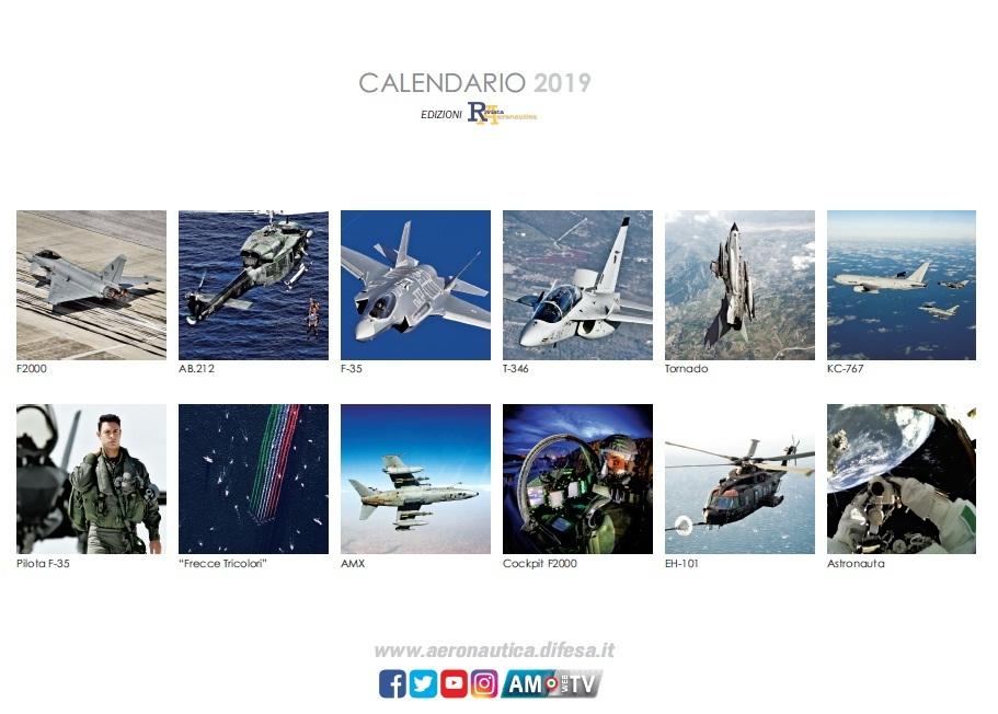 Calendario Marina Militare 2020.Calendario 2019 Tra Tecnologia E Innovazione Dodici Mesi