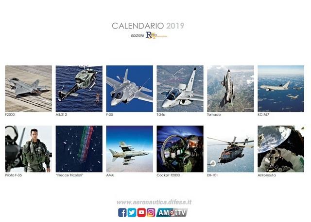Frecce Tricolori Calendario 2020.Calendario 2019 Tra Tecnologia E Innovazione Dodici Mesi