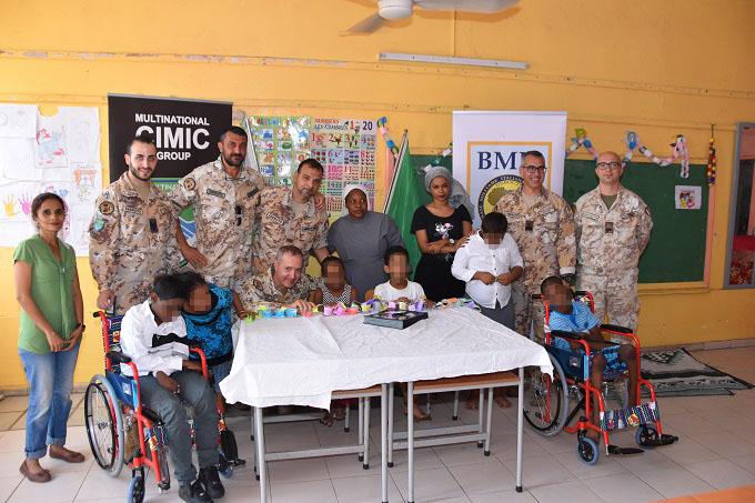 MISSIONE IN GIBUTI: UN GIORNO SPECIALE PER I BAMBINI DISABILI