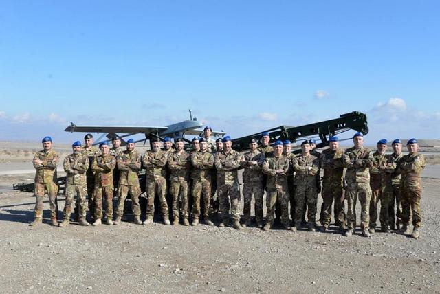 MISSIONE IN AFGHANISTAN: 2000 ORE DI VOLO PER L'UAV SHADOW 200