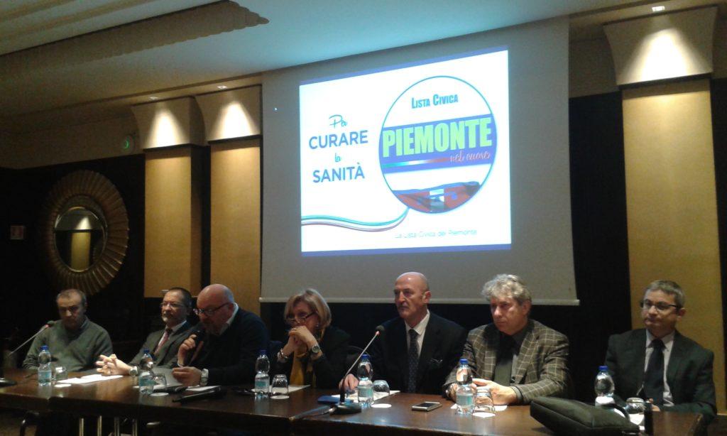 Elezioni Regionali 2019: lista civica PIEMONTE NEL CUORE