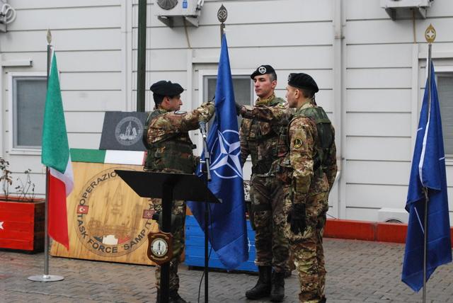 MISSIONE IN TURCHIA: AVVICENDAMENTO AL COMANDO DELLA TASK FORCE