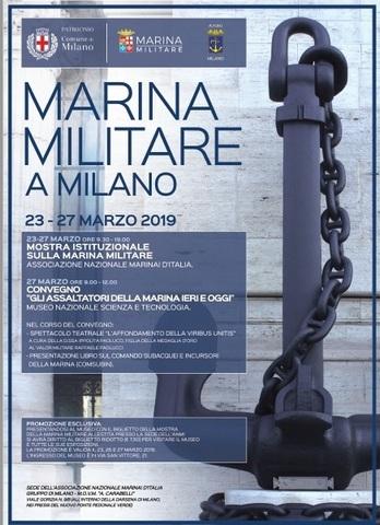 Calendario Marina Militare 2020.Dal 23 Al 27 Marzo La Marina Militare Sbarca Al Museo Della