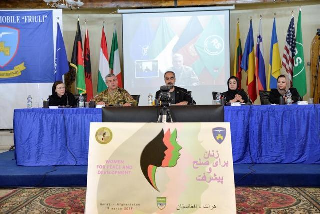 MISSIONE IN AFGHANISTAN: GIORNATA INTERNAZIONALE DELLA DONNA