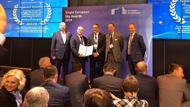 CIELO UNICO EUROPEO: RICONOSCIMENTO COMMISSIONE UE A PROGETTO AERONAUTICA MILITARE - ENAV SU SICUREZZA GESTIONE TRAFFICO AEREO