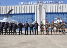 """LO SQUADRONE CARABINIERI ELIPORTATO CACCIATORI """"SICILIA"""""""