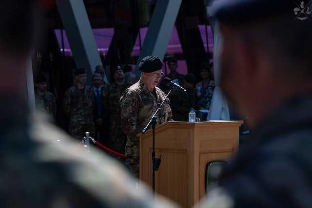 NATO: CERIMONIA DI CAMBIO AL COMANDO DEL JFC DI BRUNSSUM