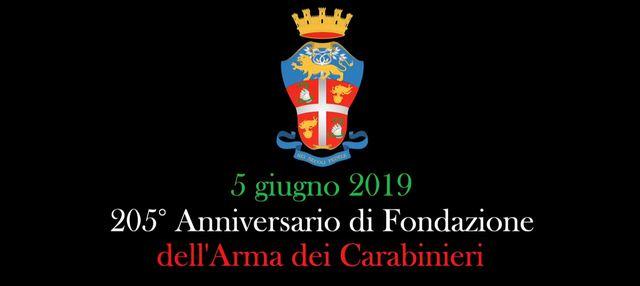 205° ANNUALE DI FONDAZIONE DELL'ARMA DEI CARABINIERI