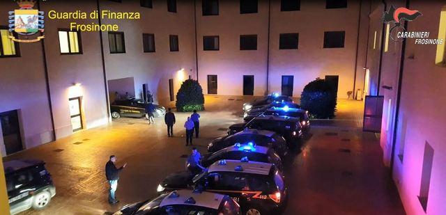 OPERAZIONE SINERGY - CONTRASTO DEL TRAFFICO DI SOSTANZE STUPEFACENTI