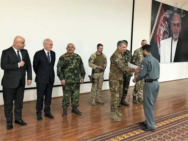 MISSIONE NATO RESOLUTE SUPPORT. AFGHANISTAN: CONCLUSO IL 5° OPERATIONAL PLANNING COURSE.
