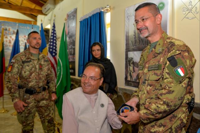 MISSIONE IN AFGHANISTAN: PRIMO WORKSHOP MEDICO A CAMP ARENA