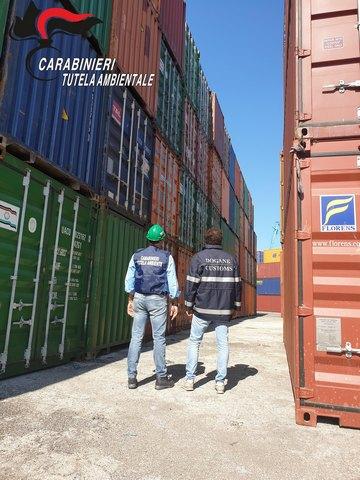 TRAFFICO ILLEGALE DI RIFIUTI DALL'ITALIA AL NORD AFRICA