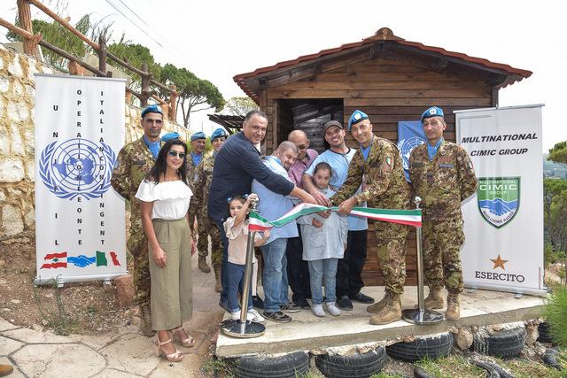 UNIFIL: ATTIVITÀ CIMIC IN FAVORE DELLA POPOLAZIONE LIBANESE