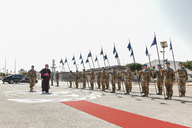 UNIFIL: VISITA DEL NUNZIO APOSTOLICO DELLA SANTA SEDE