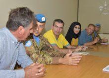 MISSIONE UNIFIL: PROGETTO CEDRUS AVVIATO DAI MILITARI ITALIANI