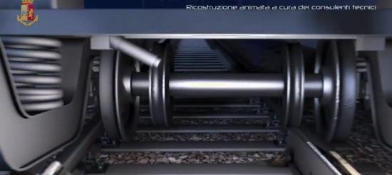 INCIDENTE FERROVIARIO DI PIOLTELLO: LA RICOSTRUZIONE IN 3D DELLA DINAMICA