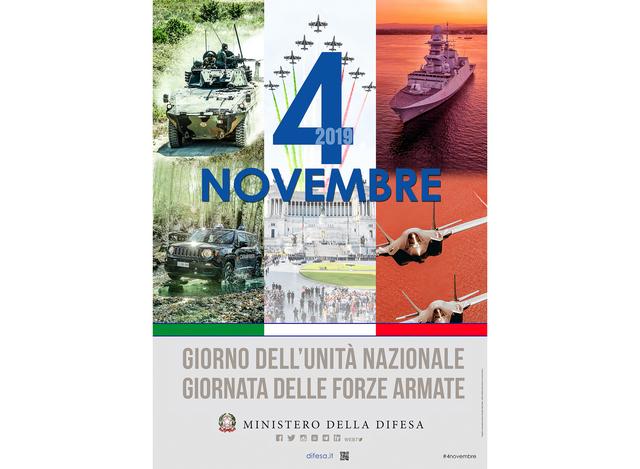 """IL 4 NOVEMBRE: """"GIORNO DELL'UNITÀ NAZIONALE E GIORNATA DELLE FORZE ARMATE"""""""