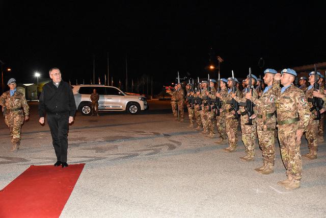 MISSIONE IN LIBANO: VISITA PASTORALE DELL'ORDINARIATO MILITARE