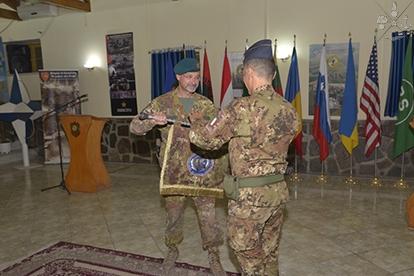 MISSIONE IN AFGHANISTAN: AVVICENDAMENTO AL COMANDO DEL C.A.I.