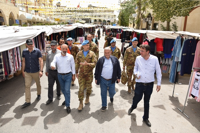 MARKET WALK: IN LIBANO DIVENTA UNA ATTIVITÀ DI PATTUGLIAMENTO