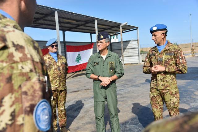 MISSIONE IN LIBANO: LA LOGISTICA NAZIONALE