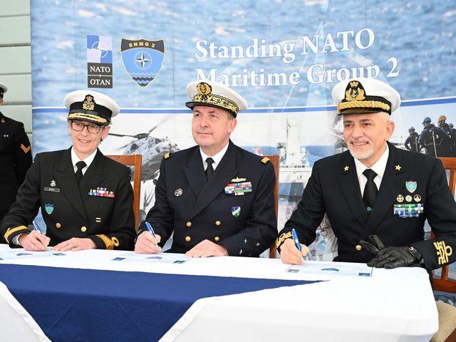 SNMG2: ITALIA AL COMANDO DEL SECONDO GRUPPO NAVALE DELLA NATO