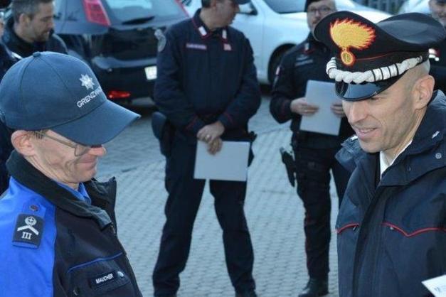 SERVIZI CONGIUNTI POLIZIA CANTONALE SVIZZERA E CARABINIERI ITALIANI