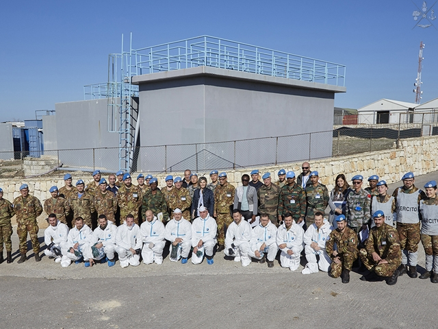 MISSIONE IN LIBANO: SECTOR WEST ESERCITAZIONE GREEN ZONE