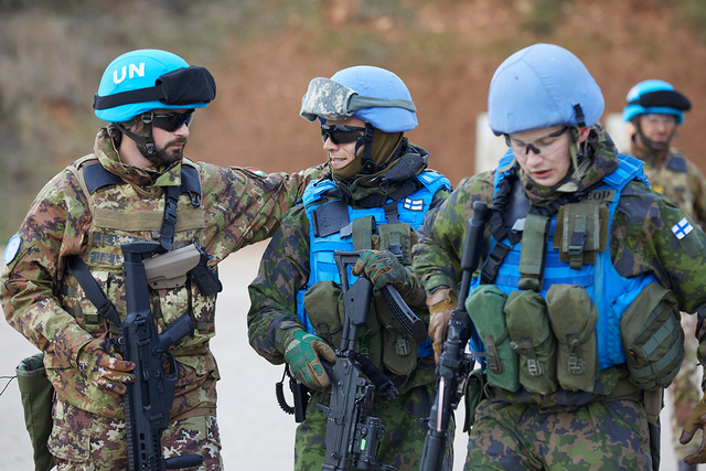 MISSIONE IN LIBANO: JOINT TRAINING ITALIA-FINLANDIA