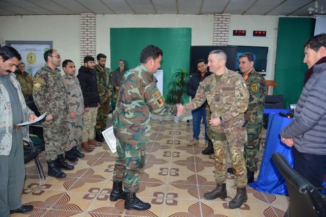 MISSIONE IN AFGHANISTAN: ADDESTRATE FORZE SICUREZZA