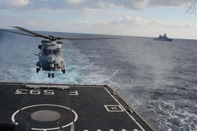NATO: ADDESTRAMENTO IN MARE PER LE UNITÀ DELLA SNMG 2