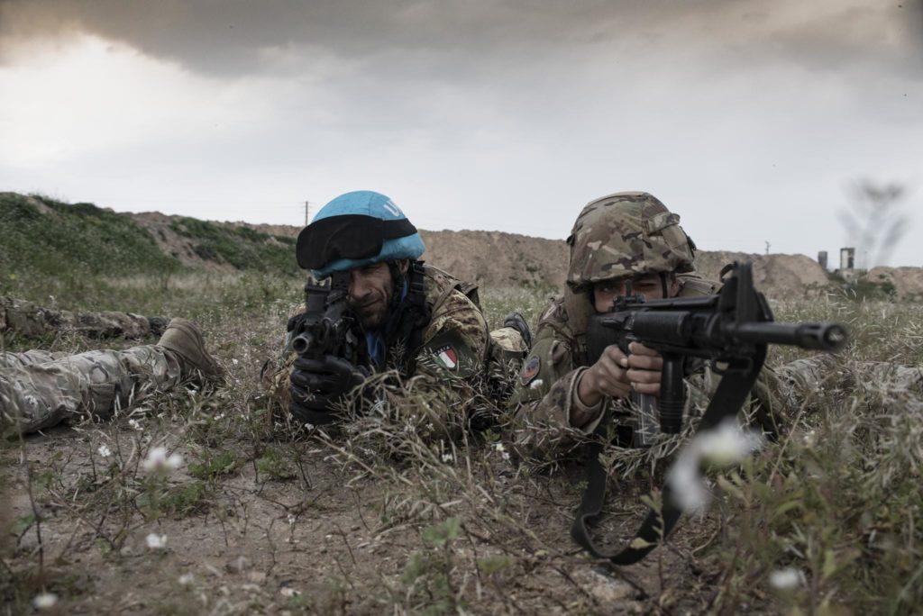 I cento giorni della Brigata Granatieri in Libano