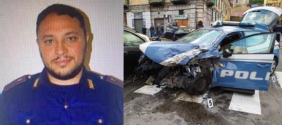 NAPOLI: POLIZIOTTO PERDE LA VITA DURANTE UN INSEGUIMENTO